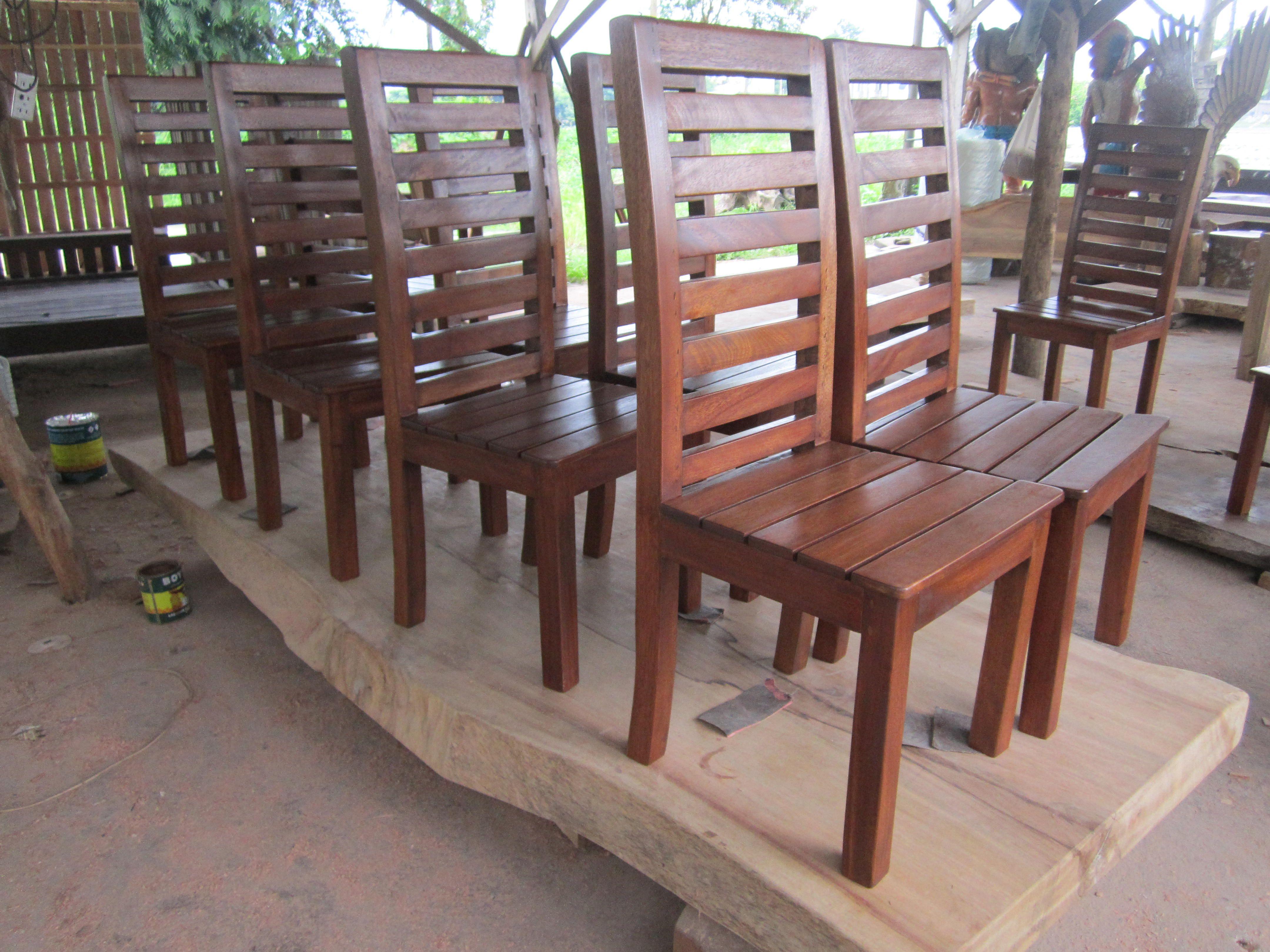 Solid Wood Chairs Mahogany Wood