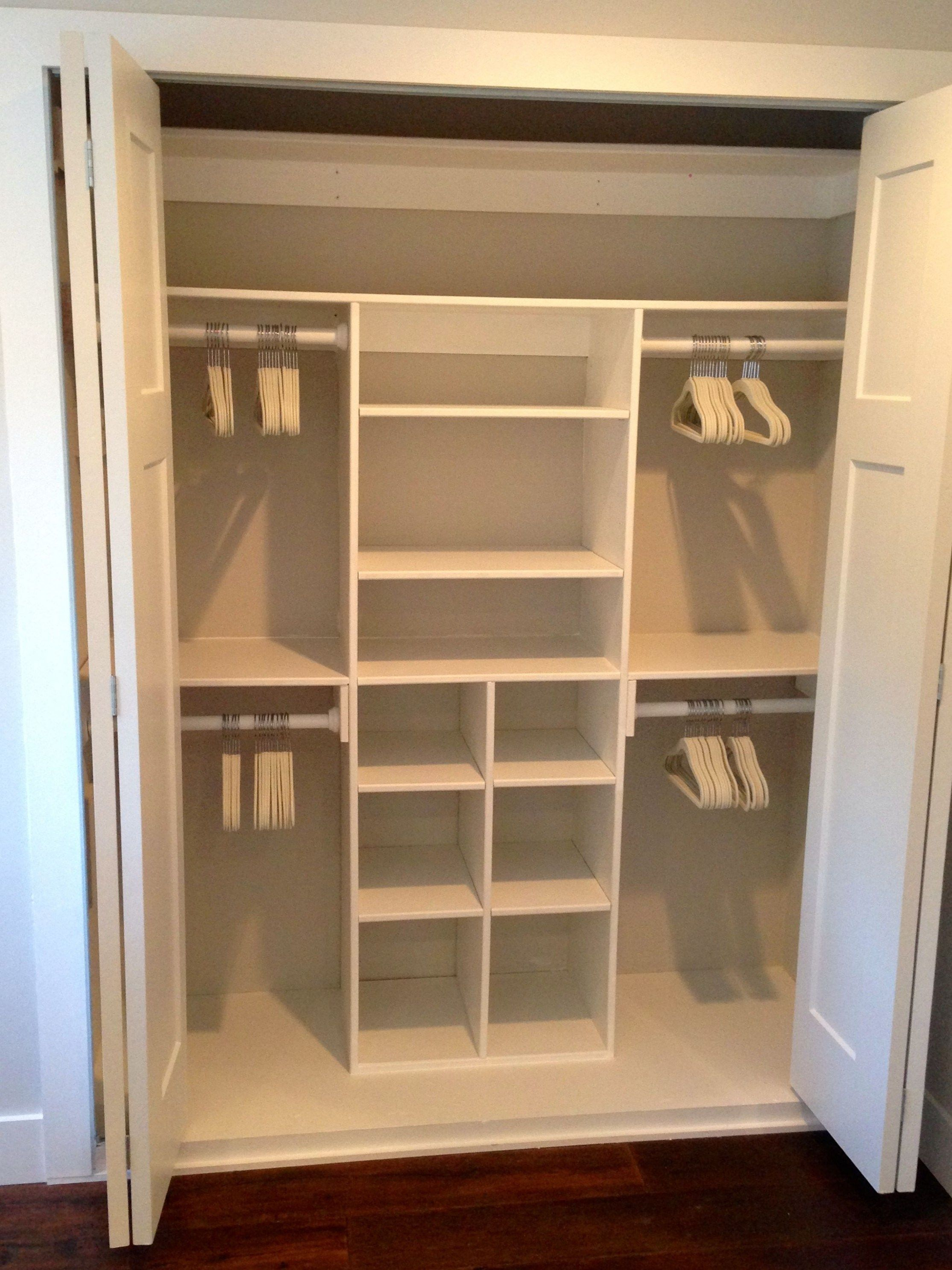More Click Easy Affordable Diy Wood Closet Shelves Ideas