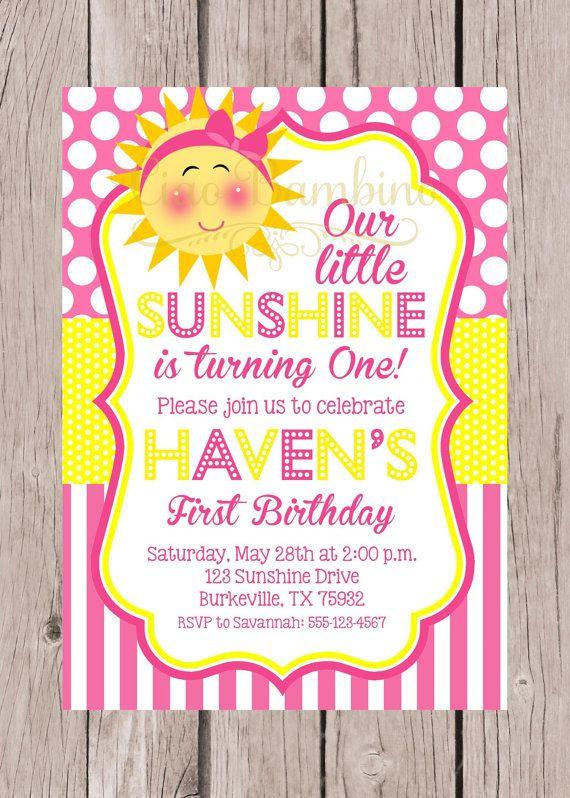 This Item Is Unavailable Etsy Birthday Party Invitations Printable Sunshine Birthday Parties Sunshine Birthday