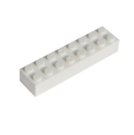 Kids Plastic Building Blocks Set Educational Toys Bricks Parts Compatible With Lego DIY Toys For Children 2x8 Dots 20pcs/lot