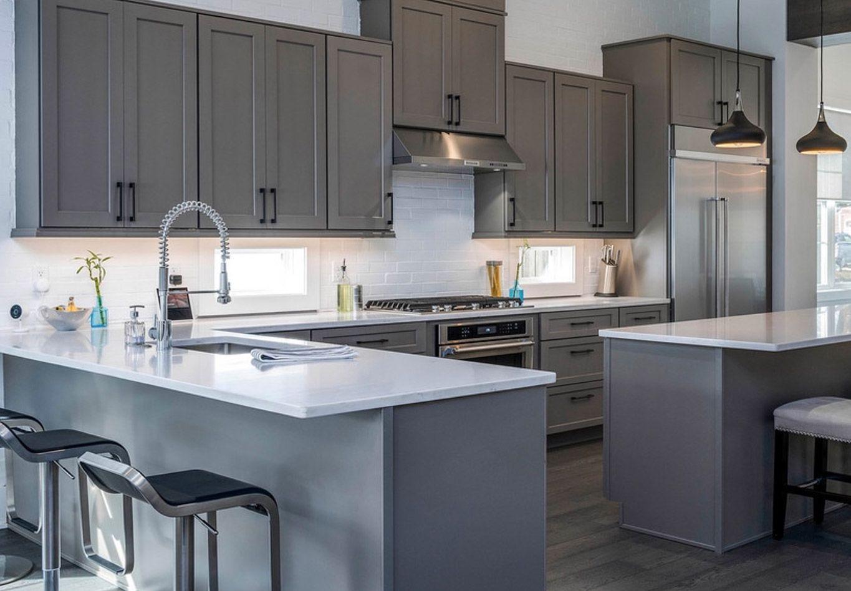 Best Humboldt Fog Kitchen Cabinets In 2020 Kitchen Design 400 x 300