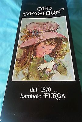 Old Fashion DAL 1870 Bambole Furga Italy in Original Box