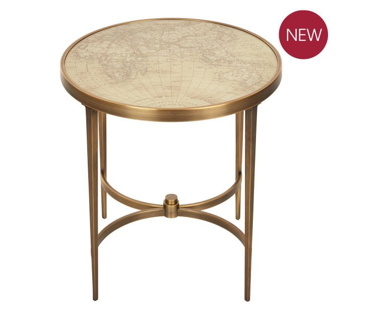 Laura Ashley Arts U0026 Crafts Collection SS16   Drake Side Table