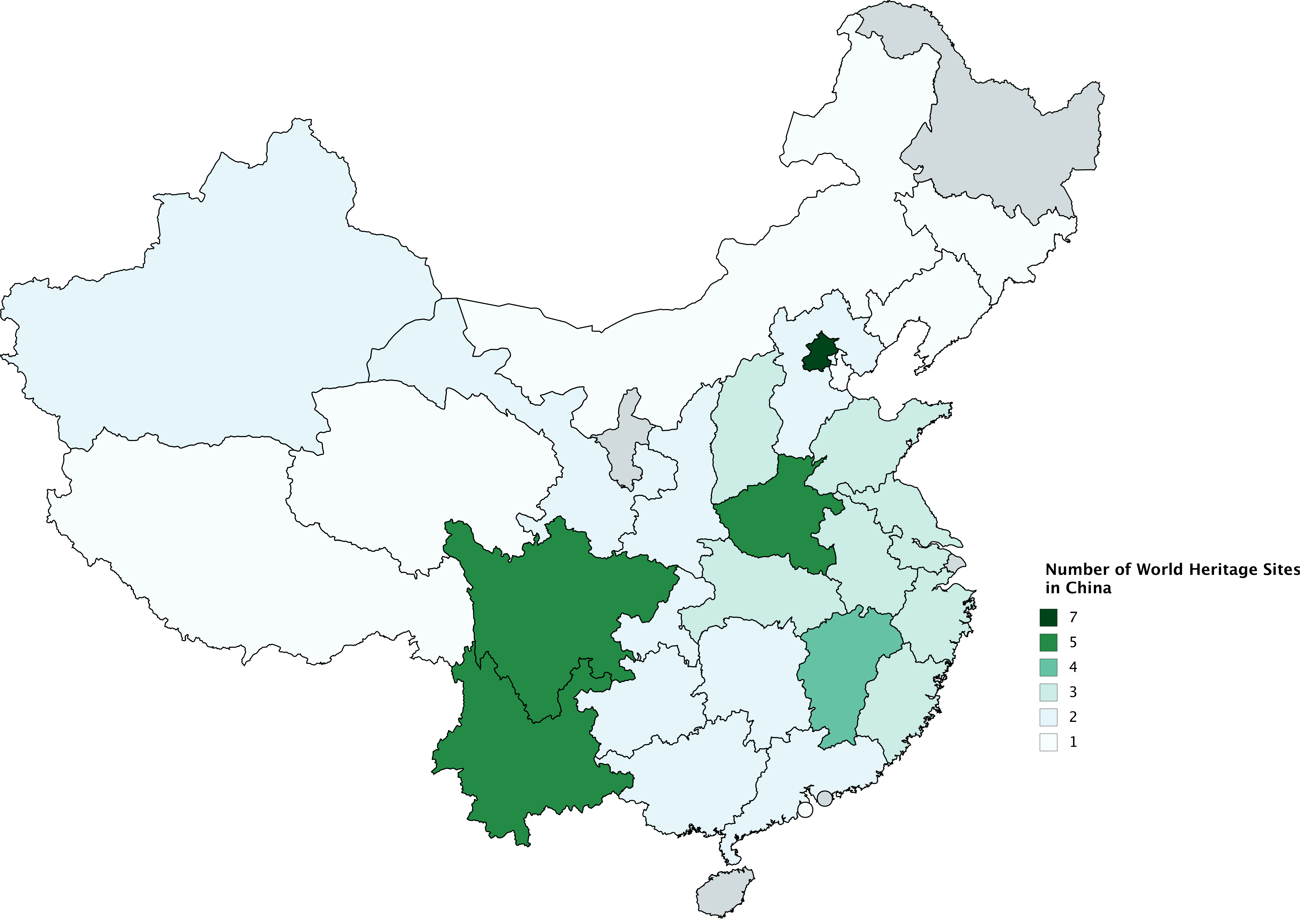 Number of world heritage sites in china maps pinterest number of world heritage sites in china gumiabroncs Image collections
