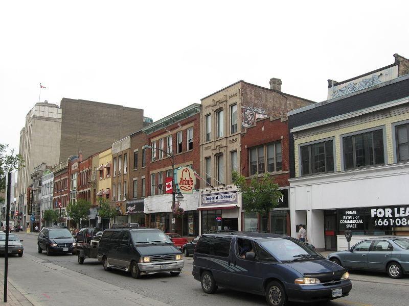 London Ontario Downtown Businesses On Dundas Street Ontario London Downtown London