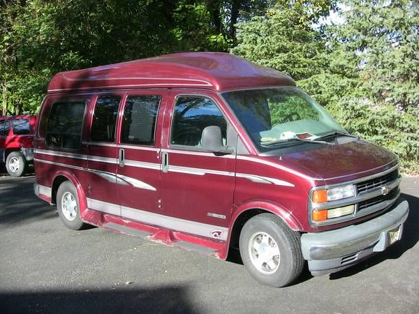 1996 Chevrolet Expr High Top Conversion Van 6000 Juliustown Nj