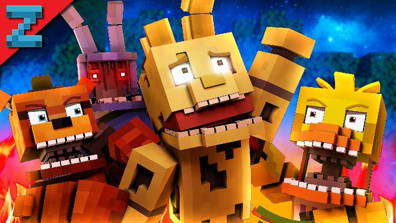 """Dont Forget"""" Minecraft FNAF Animation Music Video (Song by"""