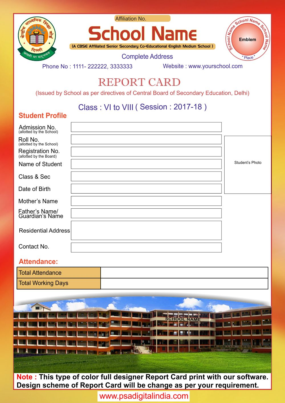 Card Report Format Calep Midnightpig Co With High School Student Report Card Template Business Profes Report Card Template School Report Card Card Template