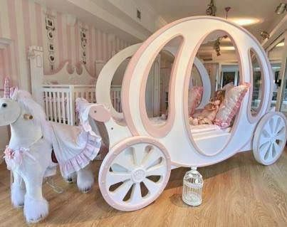 Carriage Bed Image By Kay Chan On Furniture Disney Princess Bedroom Disney Bedrooms