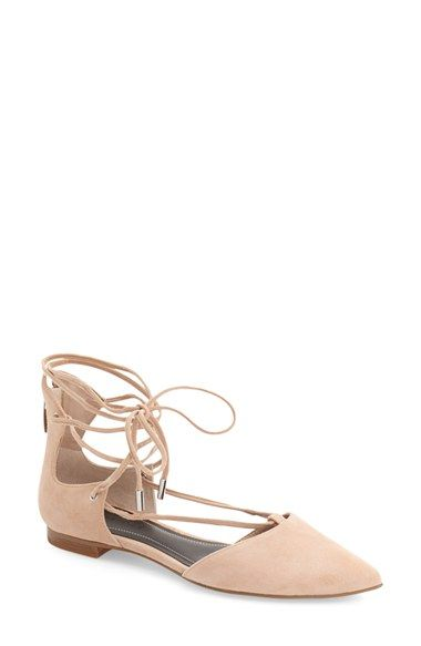 11ada80eb8e KENDALL + KYLIE  Sage  Pointy Toe Ghillie Flat (Women) available at   Nordstrom