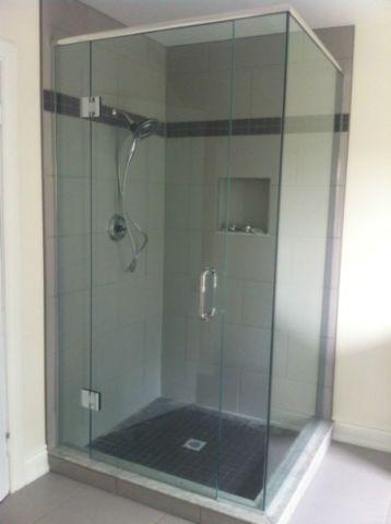 Frameless Glass Shower and Door | renovations general contracting handyman | Kitchener / Waterloo | Kijiji & Frameless Glass Shower and Door | renovations general contracting ...