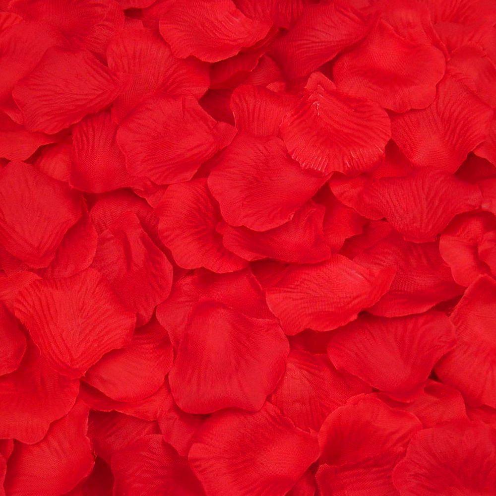 100 Rosenblatter Rosenbluten Hochzeit Deko Valentinstag Rose Rot