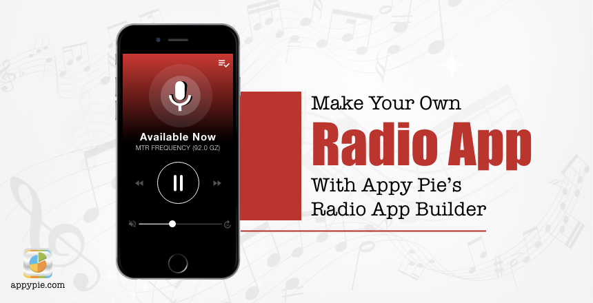 create your own radio station app free