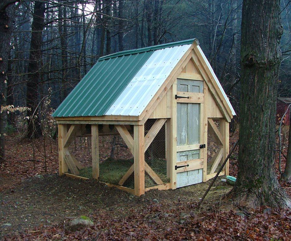 Chicken Coop (8X8) | Diy chicken coop plans, Chickens ...