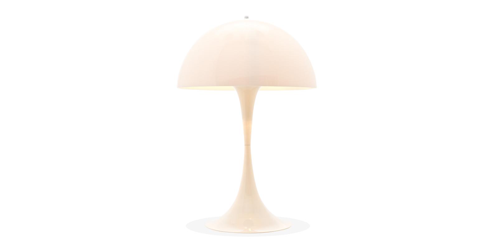 Panthella Bordlampe Hvit   - Jern - Hvit