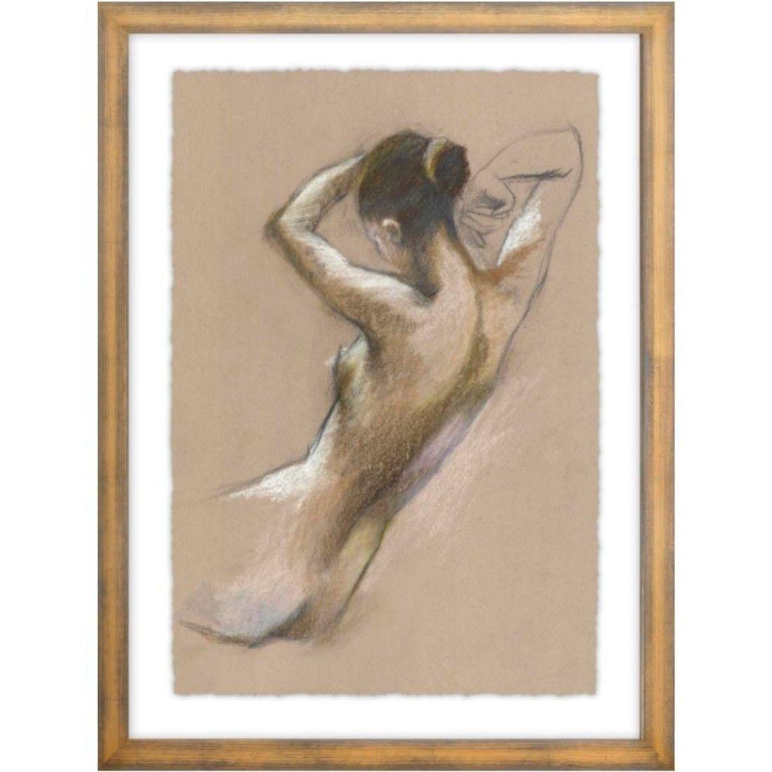 Perfect Posture I Framed | Modern wall decor art, Wall art ...