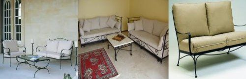 Black Wrought Iron Table And Chair Sets | Wrought Iron Sofa, Wrought Iron  Sofas, Wrought Iron Sofas And Chairs .