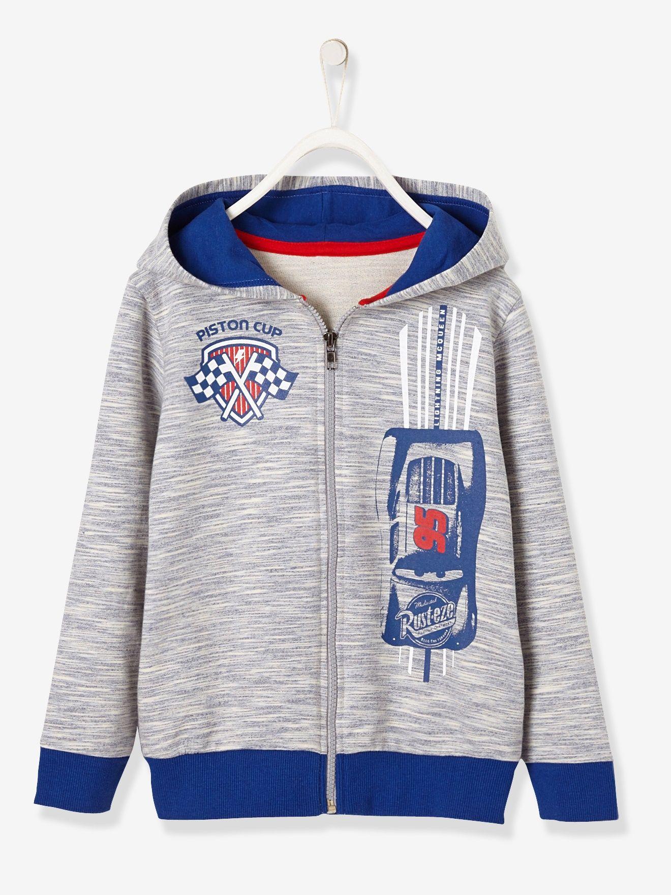 414553e95 Sudadera Cars® con capucha, para niño azul medio jaspeado - VB ...