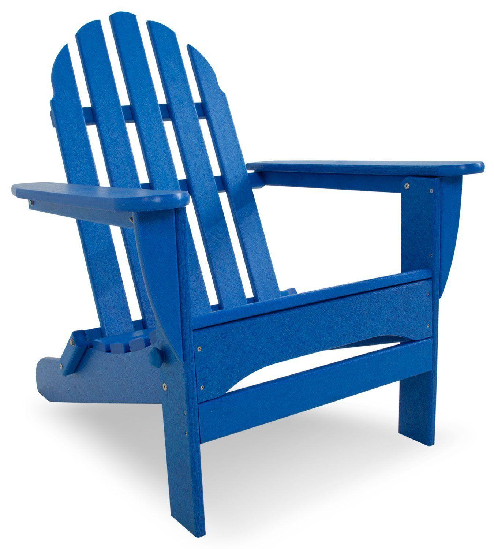 Amazon polywood outdoor furniture classic adirondack chair