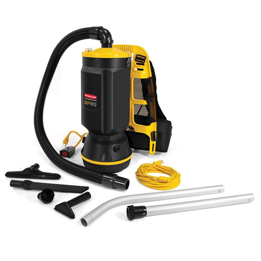 Rubbermaid FG9VBP060000 6 Qt. Backpack Vacuum Cleaner