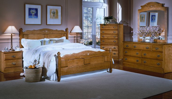Oak Bedroom Furniture makes the Most Sensible Choice - goodworksfurniture
