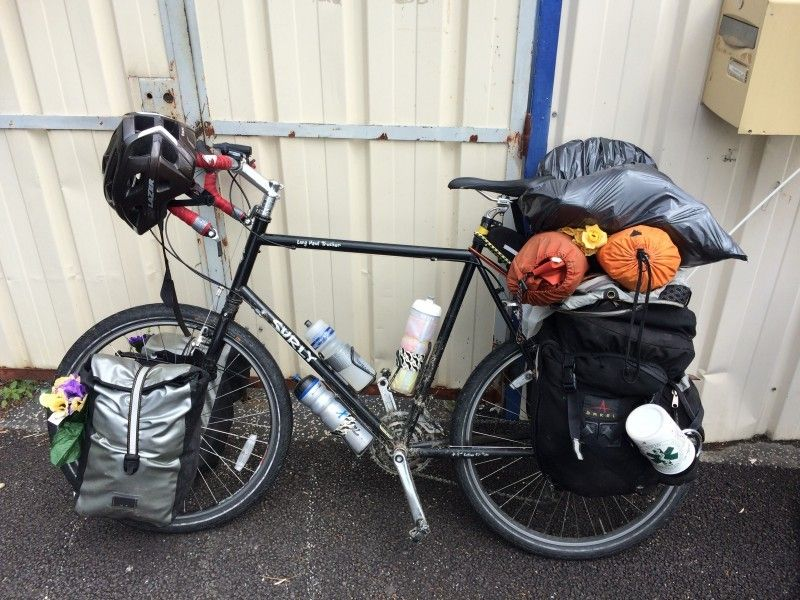 Surly Long Haul Trucker C Tuxedocutoff Reddit Touring Bicycles