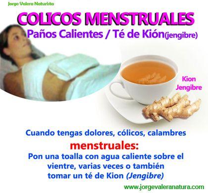 Muy fuertes remedios caseros colicos menstruales para