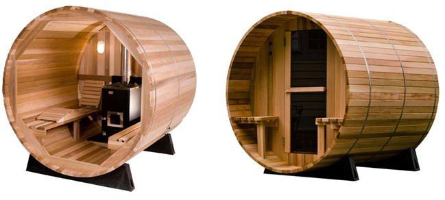 Sauna barril 2 barril sauna pinterest - Sauna finlandesa o bano turco ...
