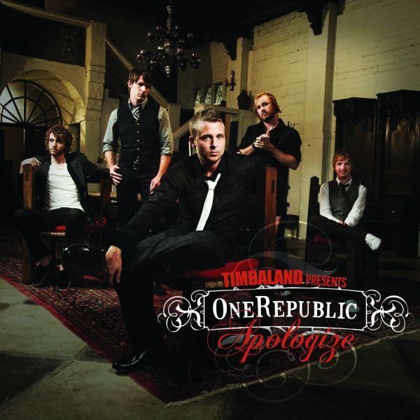 OneRepublic, Timbaland – Apologize (single cover art)