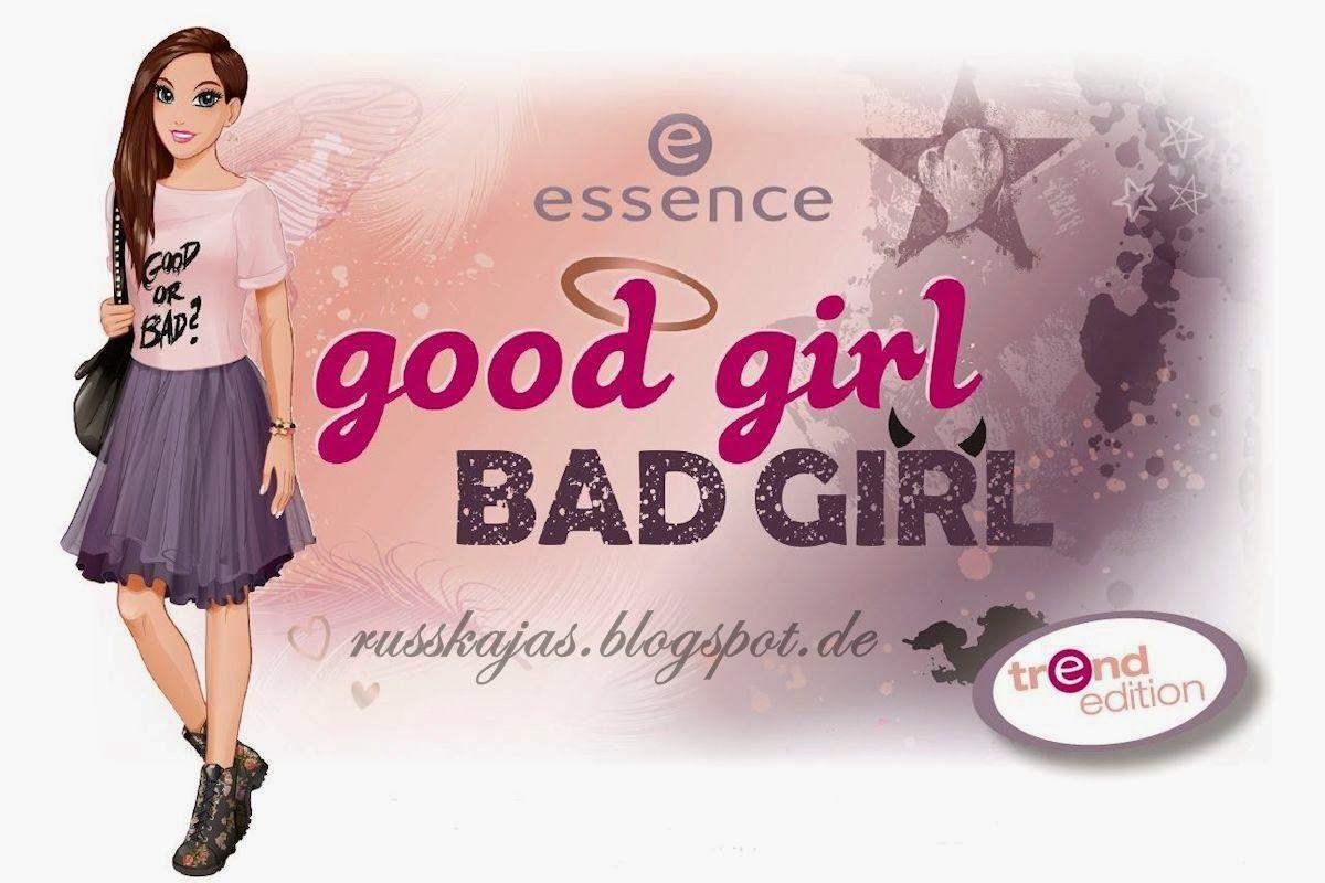 Russkajas Beautyblog: Preview - Essence Good Girl Bad Girl LE November 2...