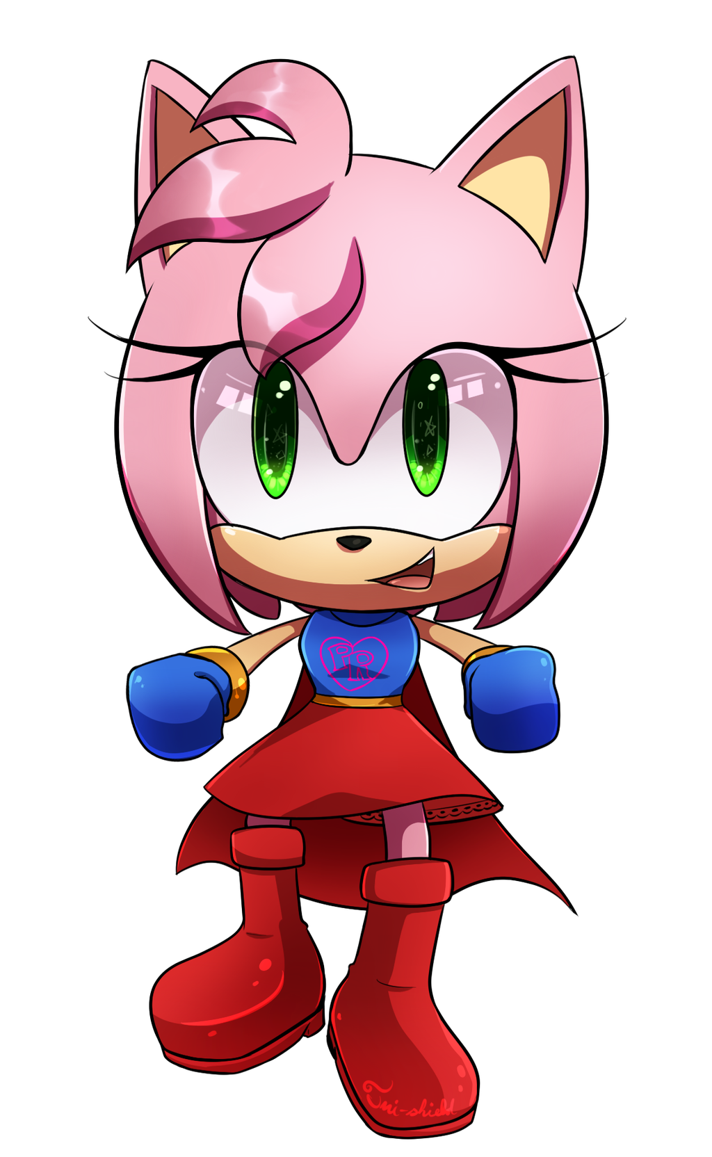 Comm Power Rose Chibi By Tri Shield On Deviantart Sonic And Shadow Chibi Sonic