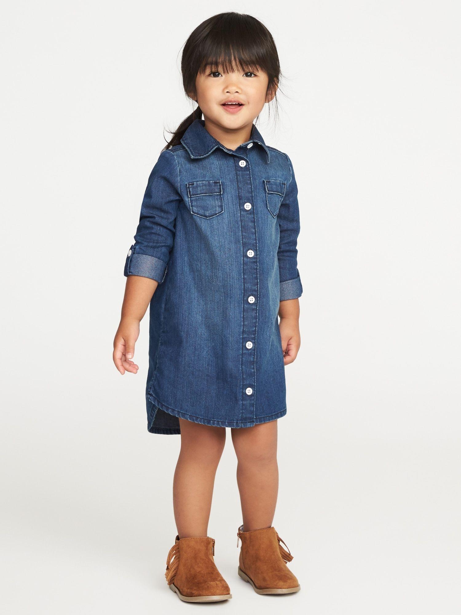 22+ Toddler denim dress info