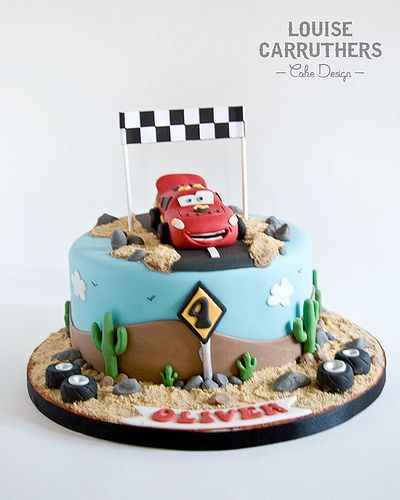 Birthday Lightening McQueen Birthday cakes McQueen and Birthdays