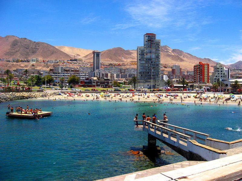 Balneario Municipal Antofagasta Antofagasta Chile Vacaciones En Chile Fotos De Chile