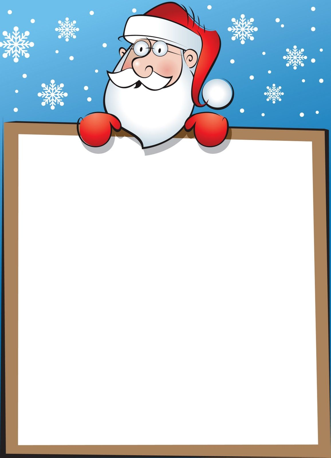 Nico Graphics Letters To Santa  Christmas Printables