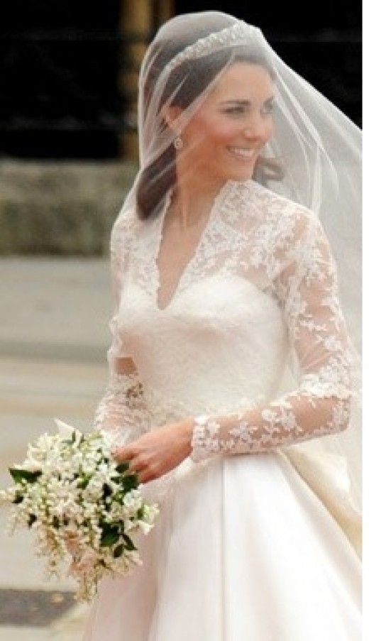 Vestido novia princesa kate middleton
