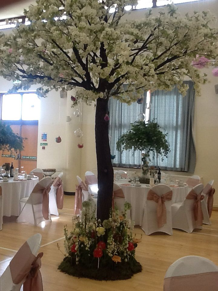 Blossom Tree Our Biggest Prop Wedding Venue Tree Decoration