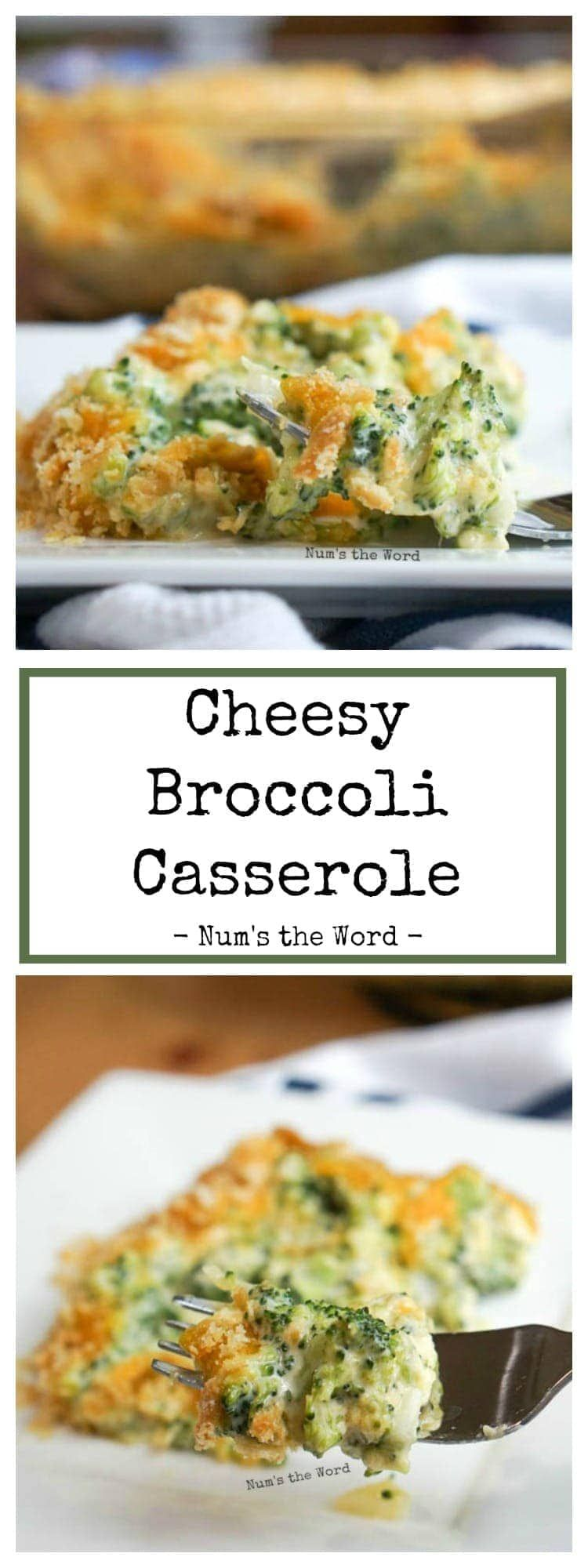 VIDEO Cheesy Broccoli Casserole is the perfect side dish to any meal Easy to prepare tastes delicious and is a crowd pleaser A family favorite recipe