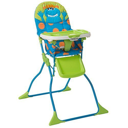 Cosco Simple Fold Deluxe High Chair Monster Syd 29 98 Shipped Folding High Chair High Chair Baby High Chair