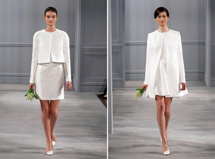 Monique Lhuillier Spring 2014 Bridal Collection. www.theweddingnotebook.com