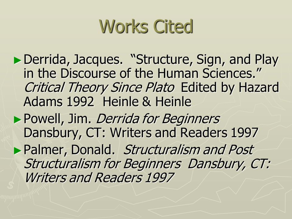 Related image Critical theory, Post structuralism, Works