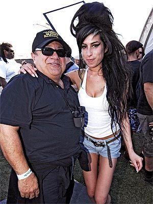 The Stars Heat Up Coachella Amy Winehouse Amy Danny Devito