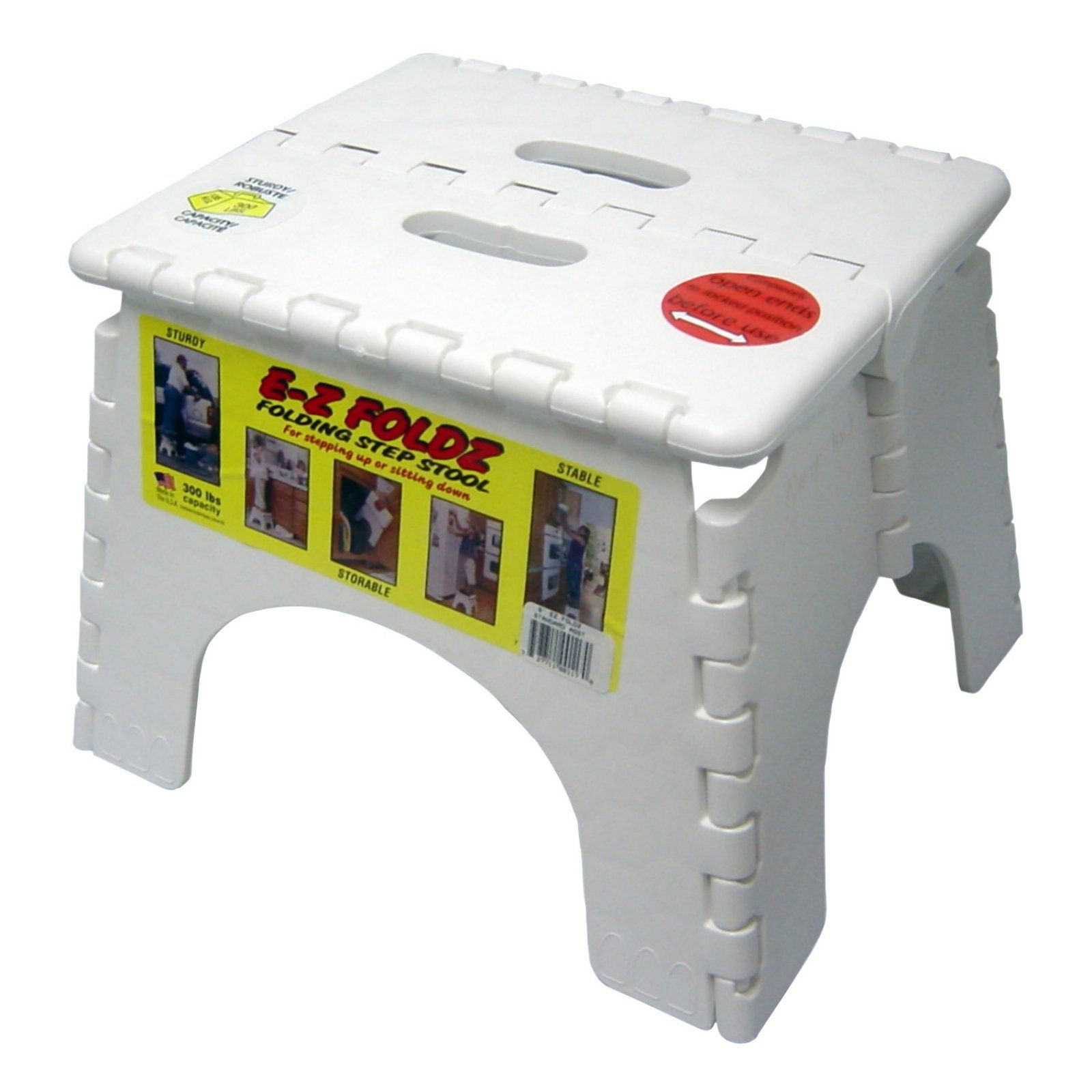 Prime B And R Plastics 9 In Ez Foldz Step Stool White Products Ocoug Best Dining Table And Chair Ideas Images Ocougorg