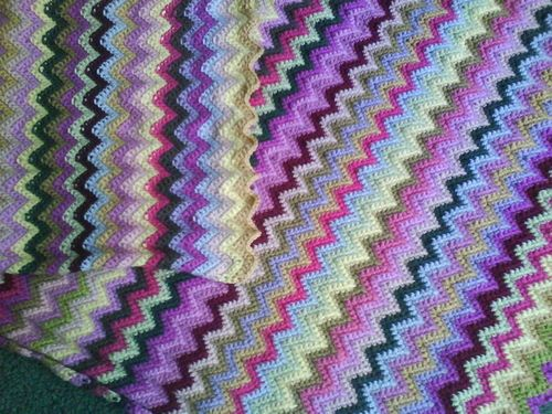 Free Zig Zag Crochet Pattern For Begginers Stuff I Want To Make