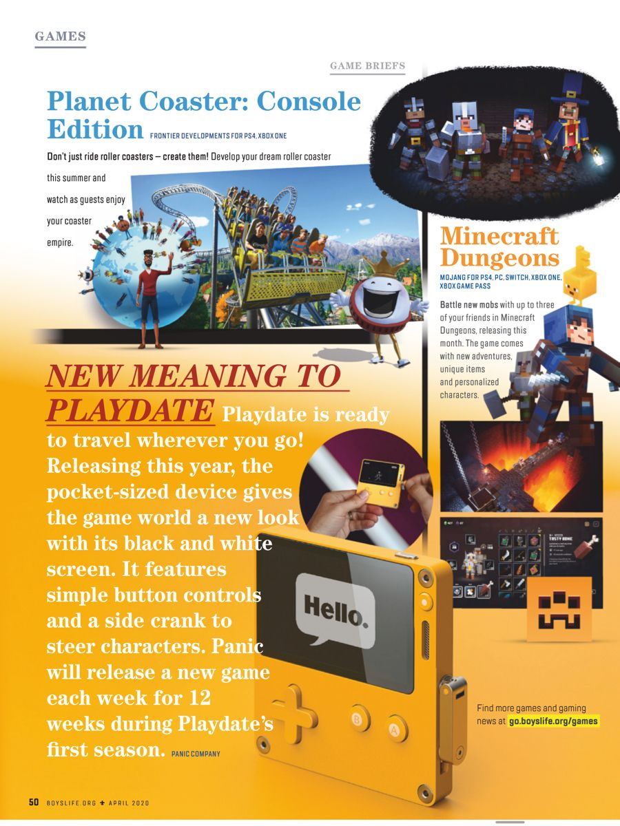Boy S Life April 2020 Page 53 Online Video Games New Online Games New Video Games [ 1200 x 900 Pixel ]