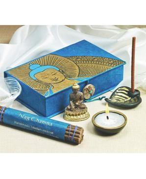 Buddha travel altar box