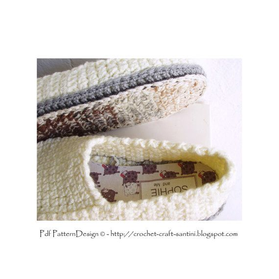 2in1-Pattern PACK for Winter Loafers basic by PdfPatternDesign