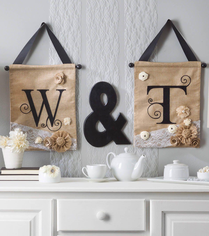DIY Wedding Monogram