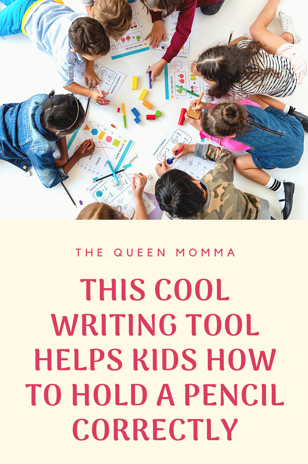 This Cool Writing Tool Helps Kids How To Hold A Pencil