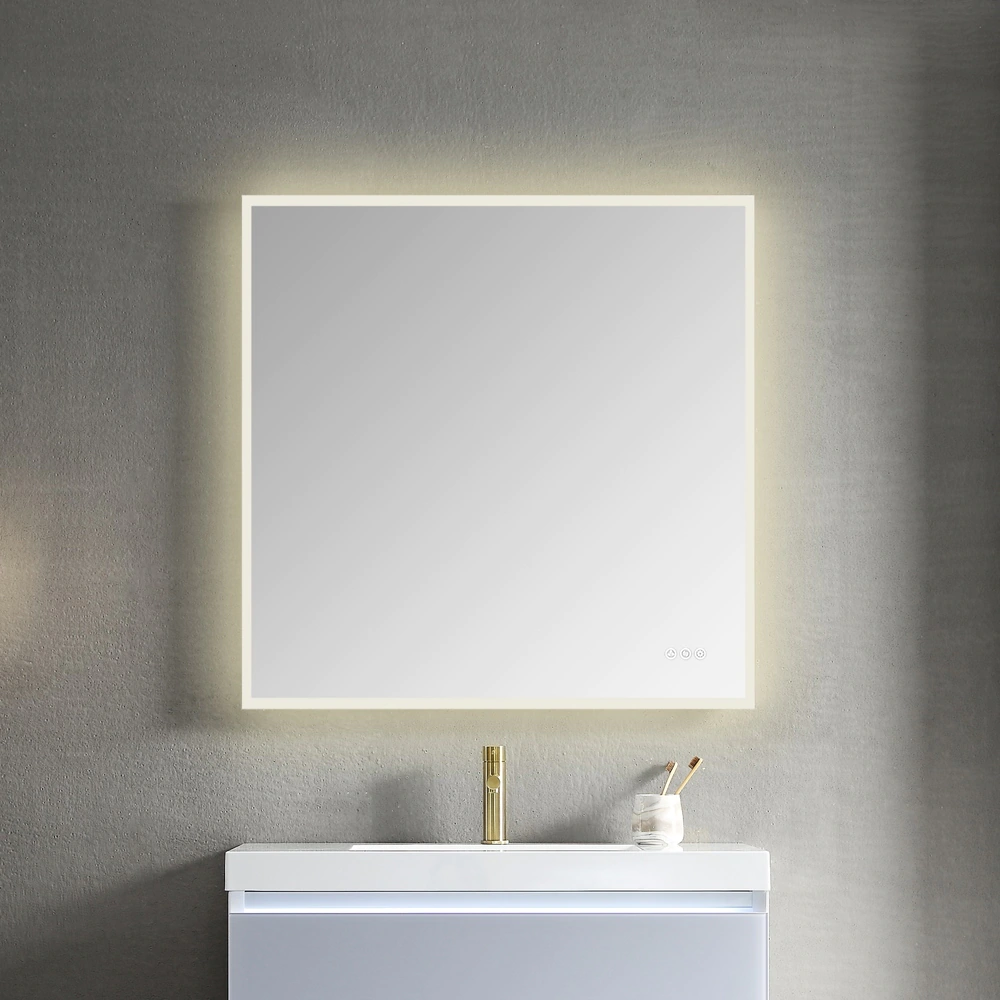 Overstock Com Online Shopping Bedding Furniture Electronics Jewelry Clothing More Lighted Bathroom Mirror Bathroom Mirror Led Mirror [ 1000 x 1000 Pixel ]